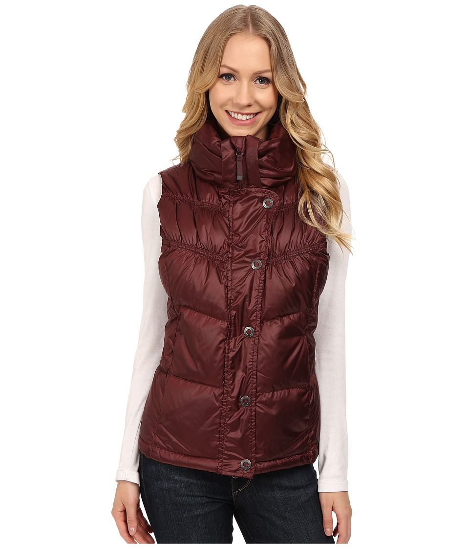 Prana - Milly Down Vest (Mahogany) Women