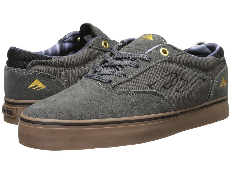 Emerica - The Provost (Grey/Gum) Men's Skate Shoes
