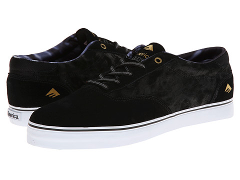 Emerica - The Provost (Black/Grey/White) Men's Skate Shoes