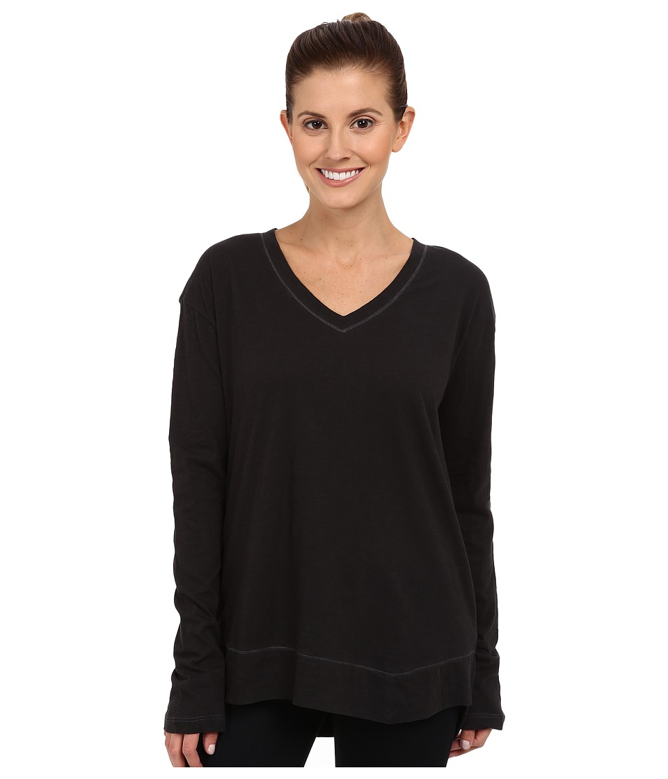 Prana - Heidi Top (Black) Women's Long Sleeve Pullover