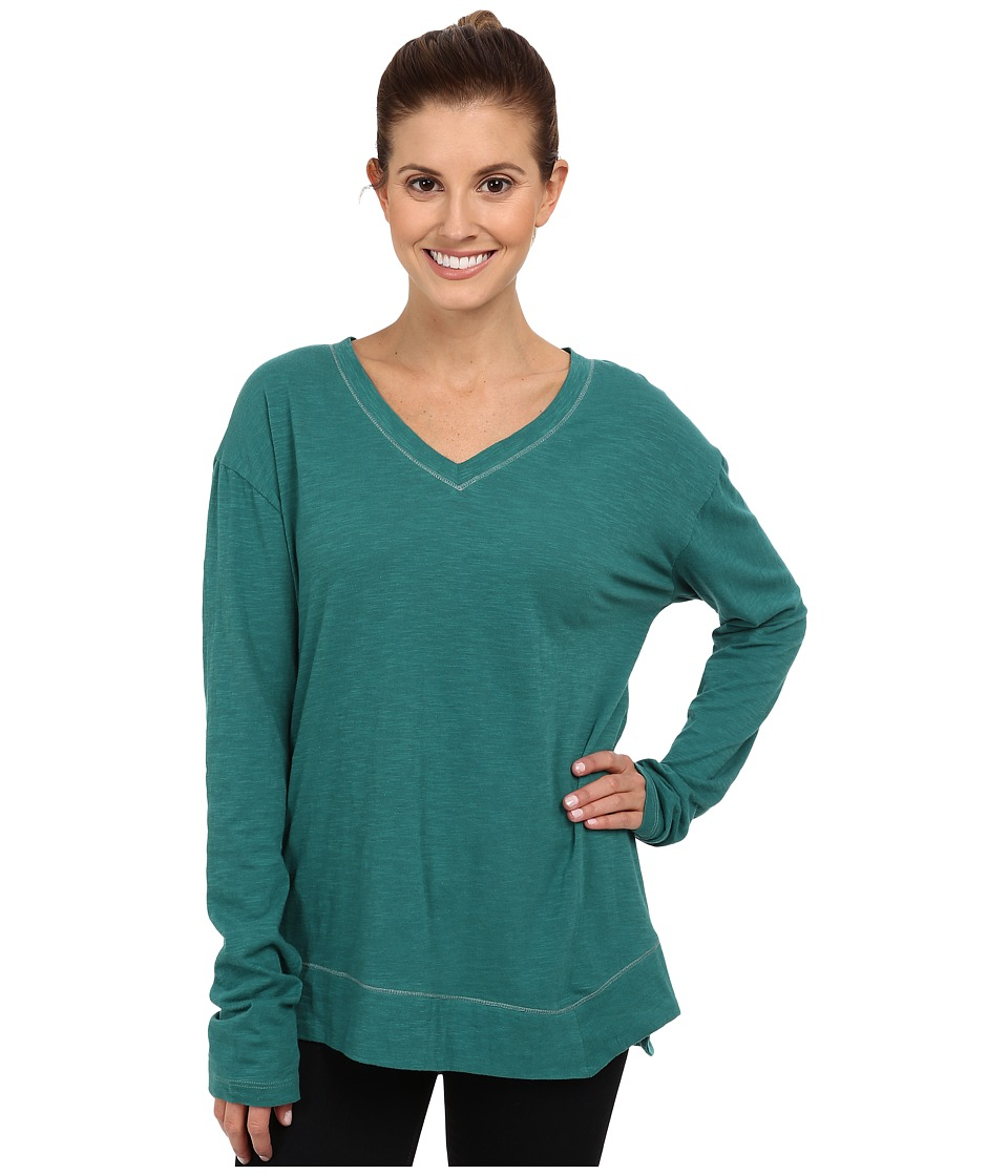 Prana - Heidi Top (Deep Turquoise) Women's Long Sleeve Pullover