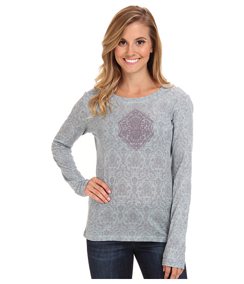 Prana - Mallory Top (Dress Blue) Women's Long Sleeve Pullover