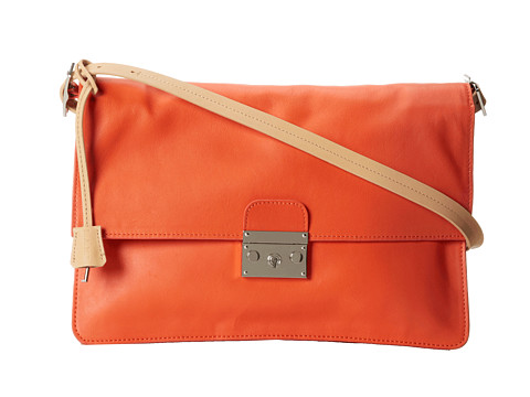 L.A.M.B. - Cinda (Orange) Shoulder Handbags