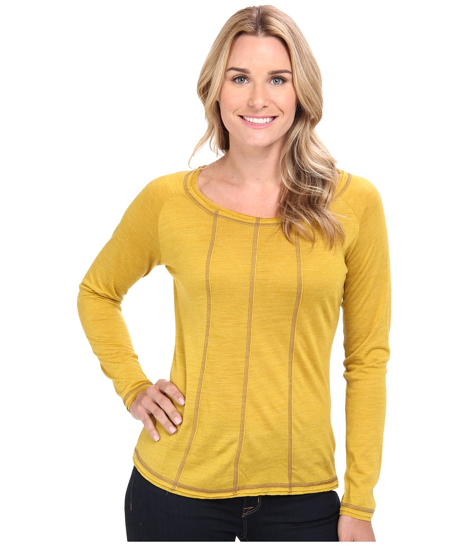 Prana - Chrissa Top (Gold Leaf) Women