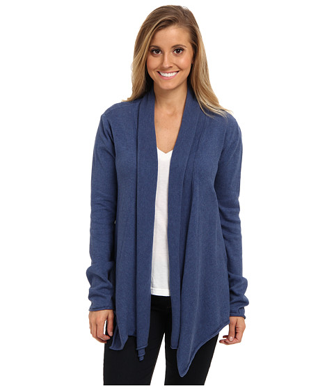 Prana - Georgia Wrap (Blue Twilight) Women's Sweater