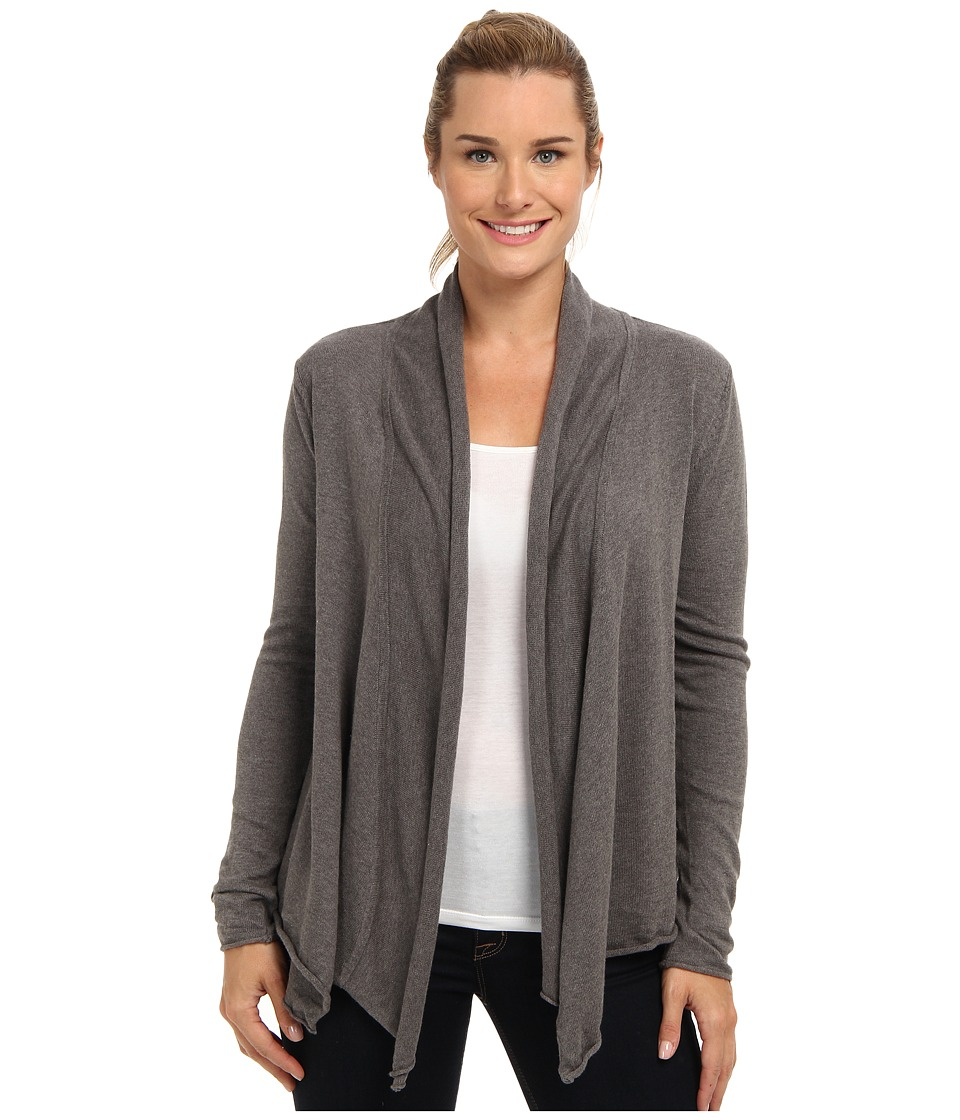 Prana - Georgia Wrap (Charcoal) Women's Sweater