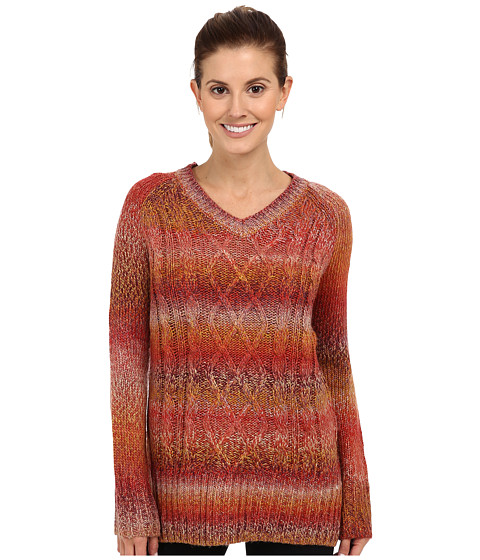 Prana - Leisel Sweater (Crimson) Women's Sweater