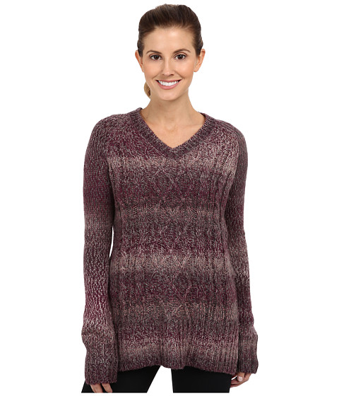 Prana - Leisel Sweater (Dark Plum) Women's Sweater