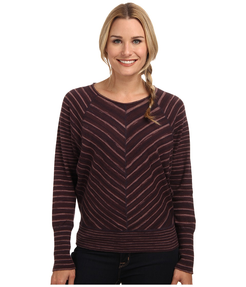 Prana - Emerson Sweater (Dark Plum) Women
