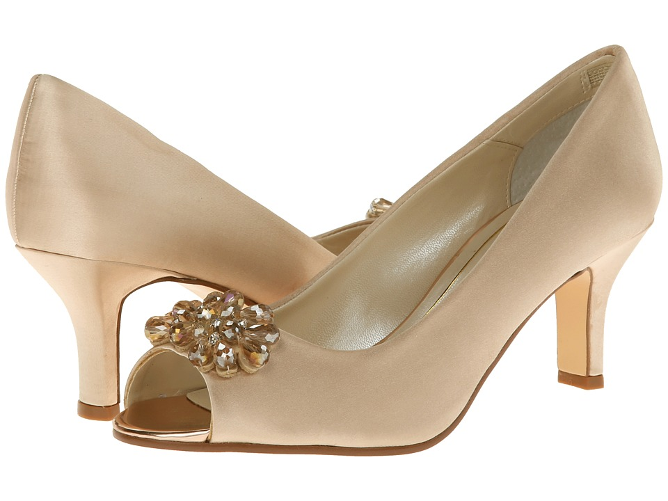 Caparros - Marissa (Gold Satin) High Heels