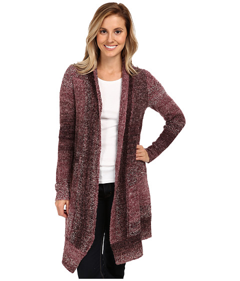 Prana - Rhonda Duster (Mahogany) Women's Sweater