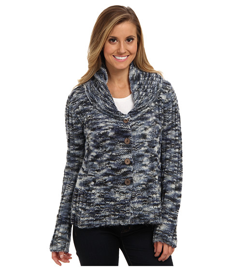 Prana - Charlotte Cardigan (Blue Ridge) Women's Sweater