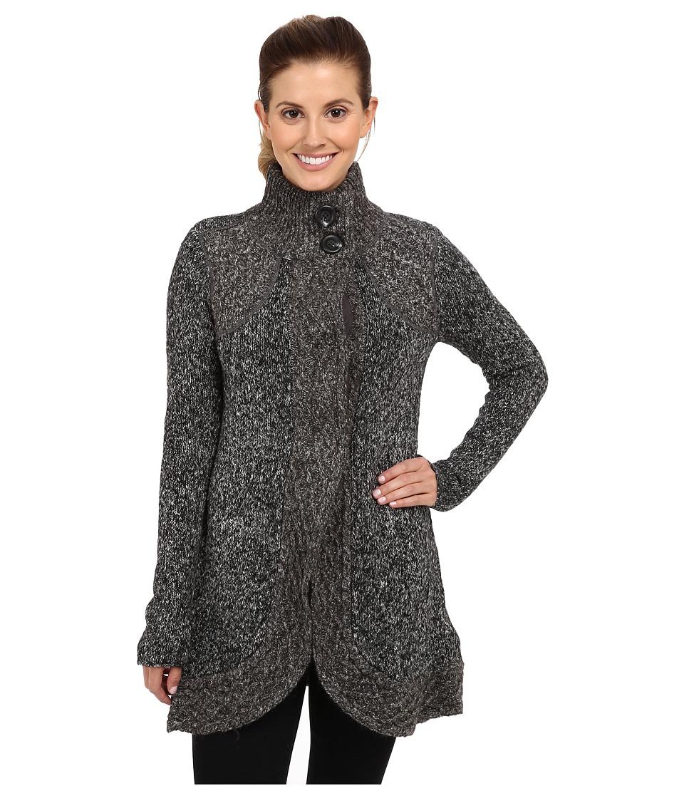 Prana - Angelica Duster (Coal) Women's Sweater