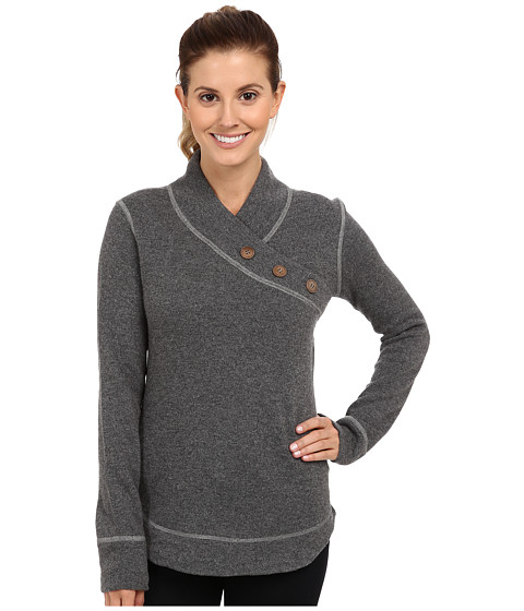 Prana - Mena Sweater (Coal) Women's Sweater
