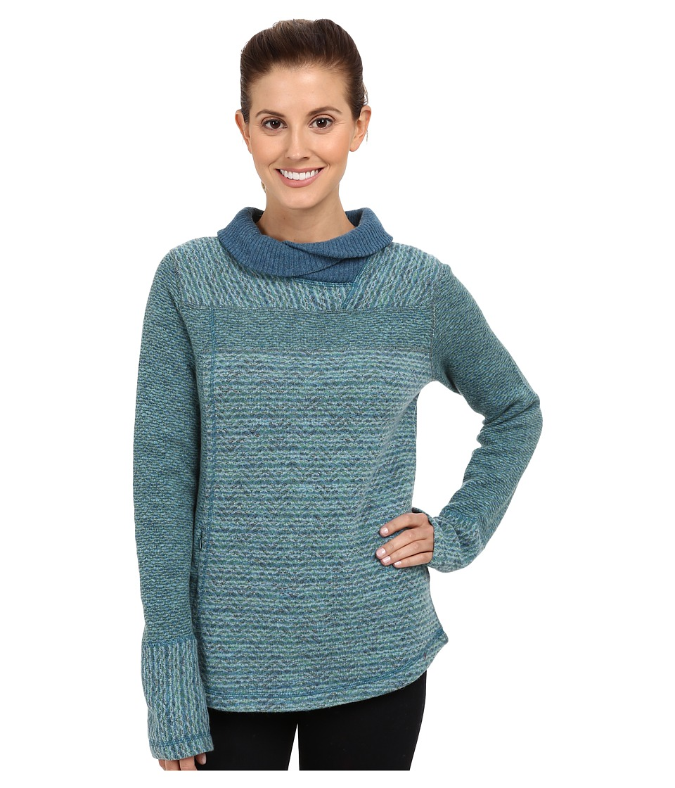 Prana - Eleanor Sweater (Dusty Teal) Women's Sweater