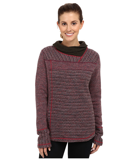 Prana - Eleanor Sweater (Plum Red) Women's Sweater