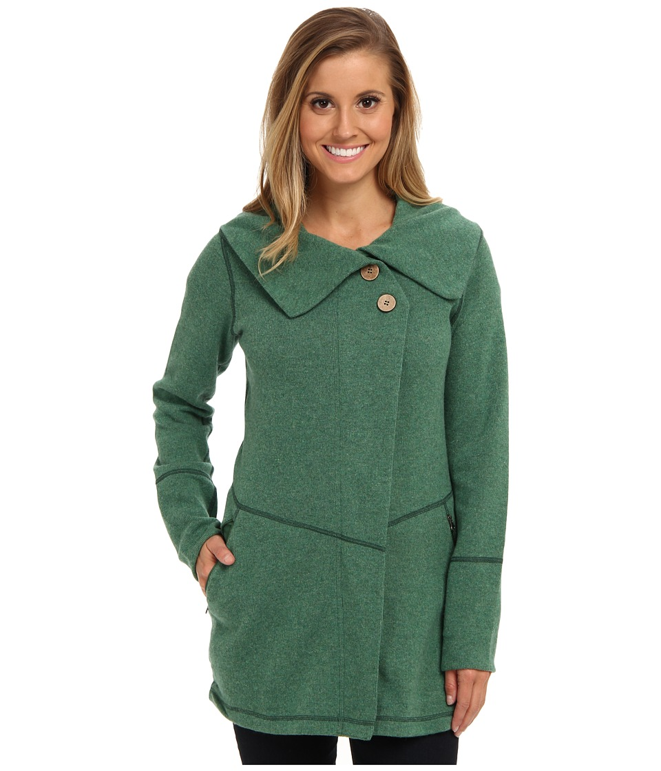 Prana - Sephra Jacket (Deep Jade) Women's Jacket