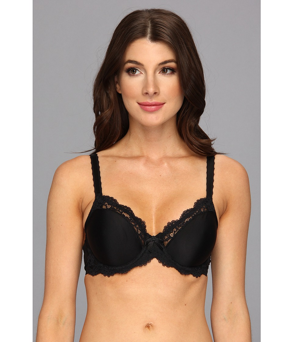 Wacoal - Supporting Role Underwire Bra 855203 (Black) Women's Bra