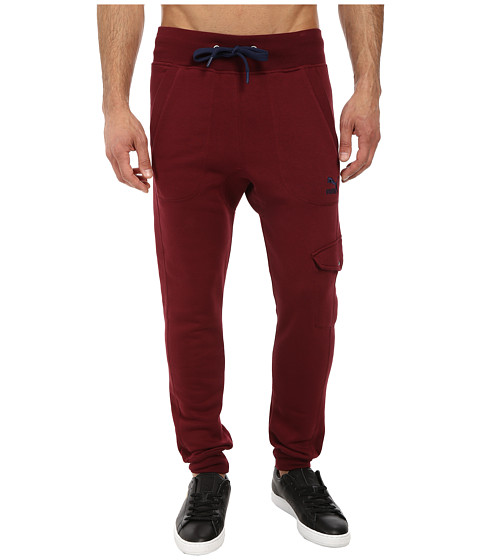 PUMA - Cargo Sweat Pant (Zinfandel) Men's Casual Pants