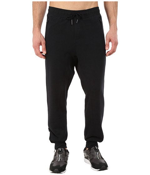 PUMA - Cuffed Sweat Pant (Black) Men's Casual Pants