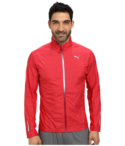 PUMA - Pr Pure Nightcat Jacket (Crimson) Men's Jacket