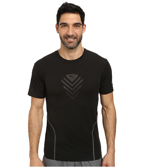 PUMA - Pt Pure Tech S/S Tee (Black) Men's T Shirt