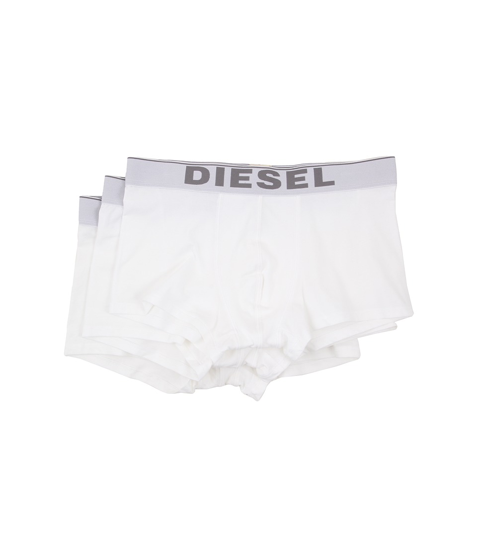 Diesel - Kory Trunk NTGA 3-Pack (White) Men's Underwear