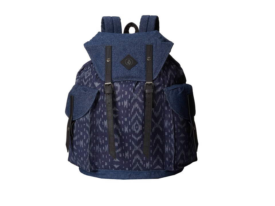 Volcom - Wayward Canvas Rucksack (Vintage Navy) Backpack Bags