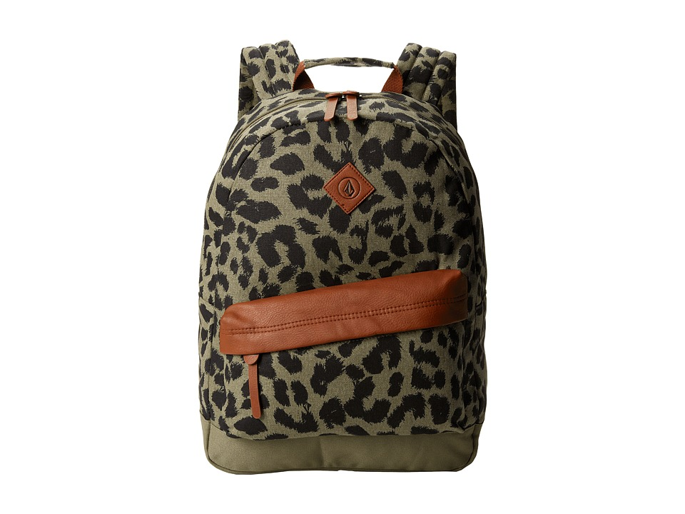 Volcom - Supply Canvas Backpack (Olive) Backpack Bags