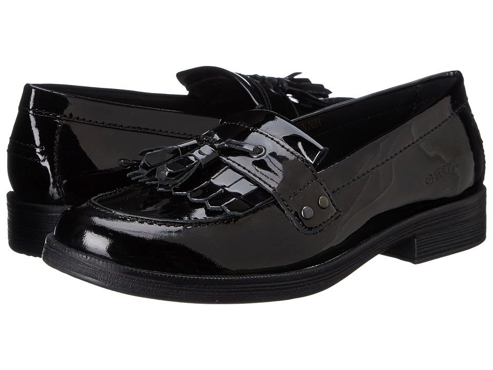 Geox Kids - Jr Agata Oxford (Big Kid) (Black) Girl's Shoes