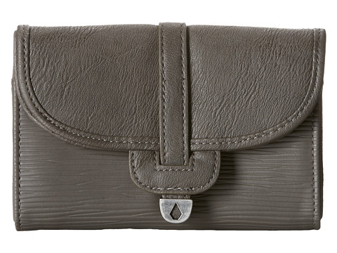 Volcom - Nothing Metals Wallet (Grey) Wallet Handbags