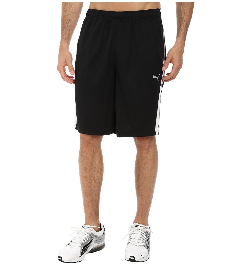 PUMA - Formstripe 10 Short (Black/White) Men's Shorts