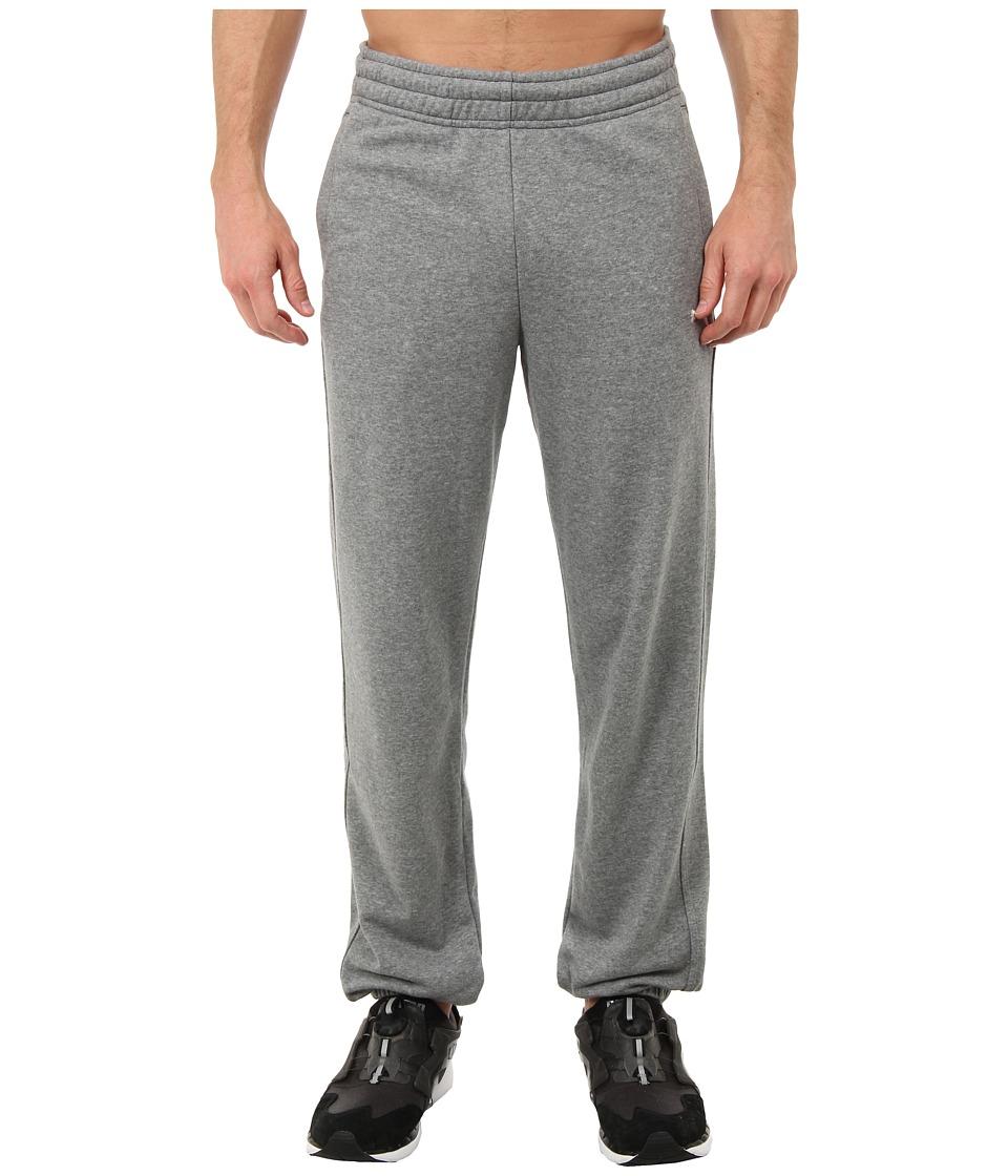 PUMA - Terry Sweat Pant Cuffed (Medium Gray Heather) Men