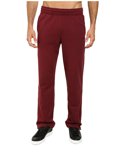 PUMA - Terry Sweat Pant Open (Zinfandel) Men's Casual Pants