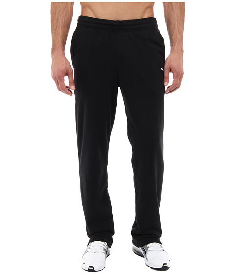 PUMA - Terry Sweat Pant Open (Black) Men