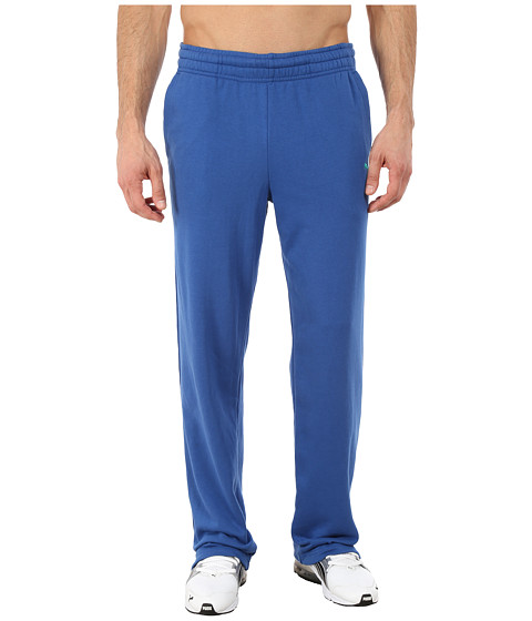 PUMA - Terry Sweat Pant Open (Limoges) Men's Casual Pants