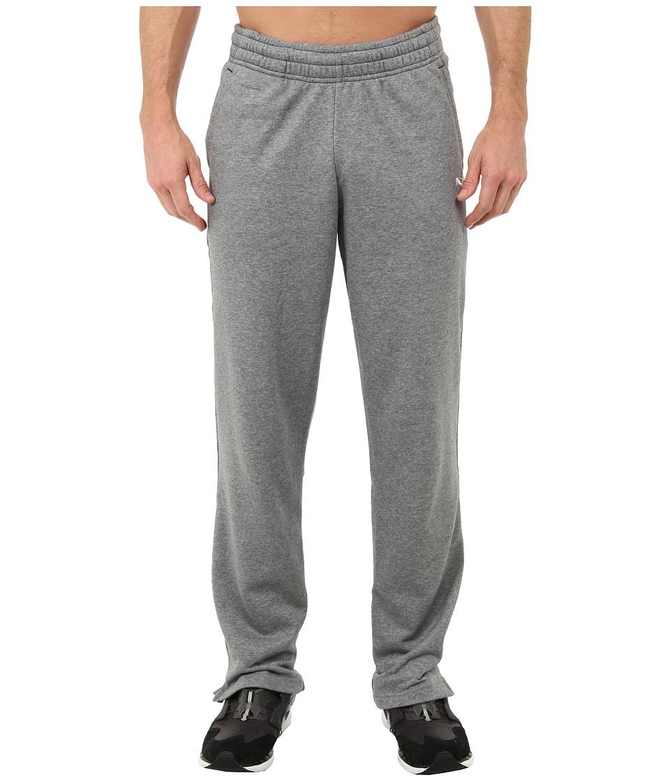 PUMA - Terry Sweat Pant Open (Medium Gray Heather) Men's Casual Pants