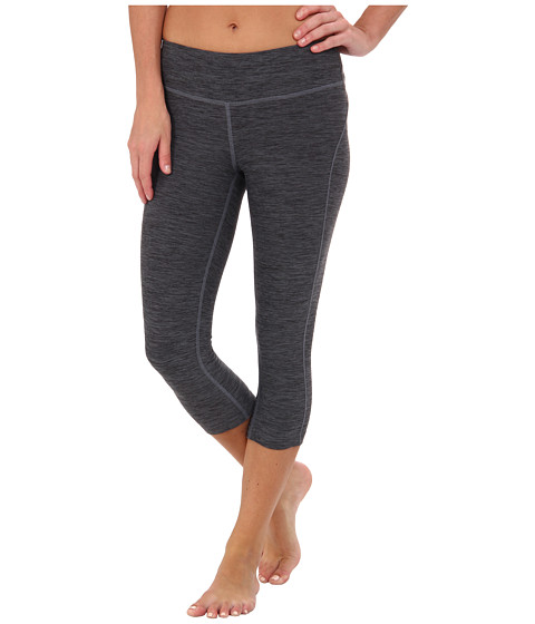 New Balance - Space Dye Capri (Black Grey) Women's Capri