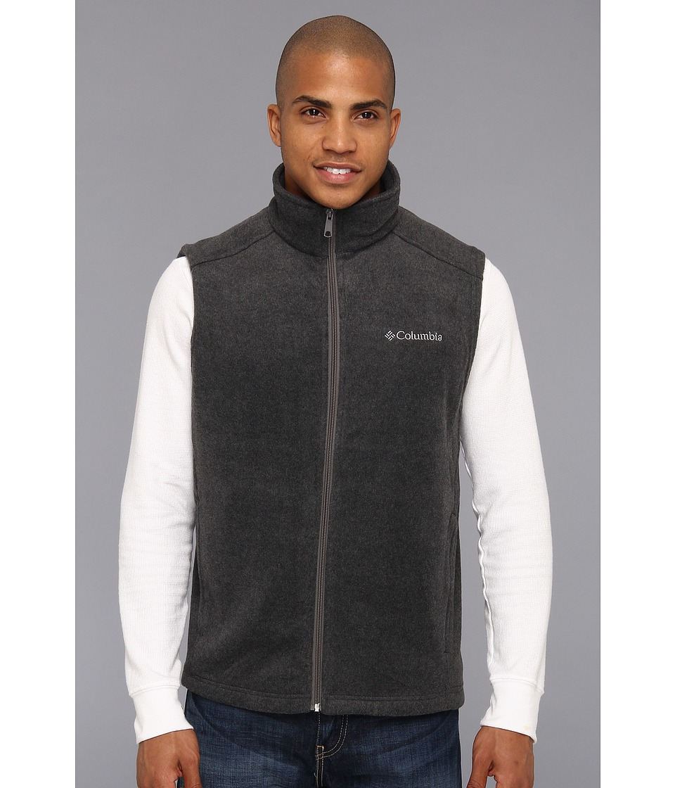 Columbia - Cathedral Peak II Vest (Charcoal Heather) Men's Vest