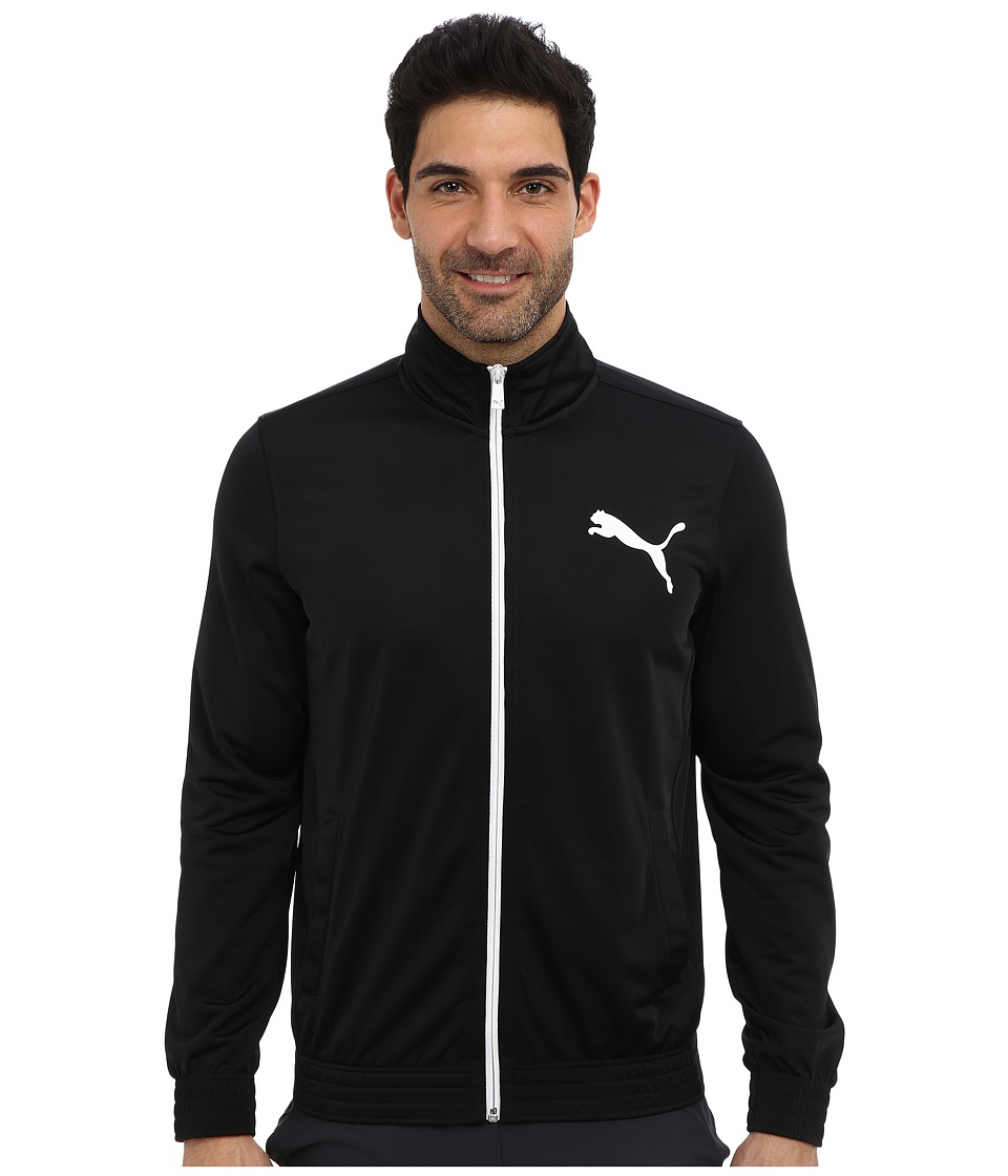 PUMA - Contrast Jacket (Black) Men's Coat