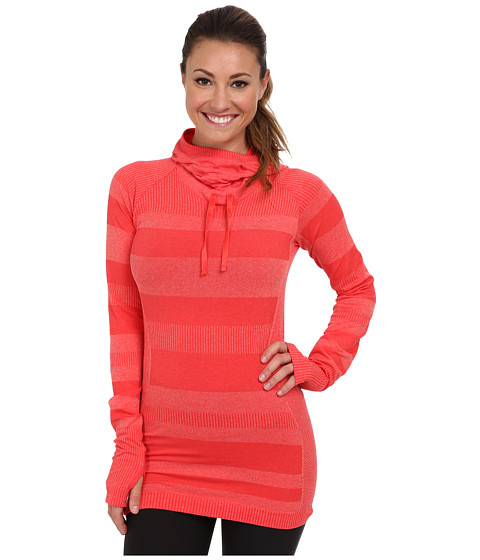 Moving Comfort - Fusion Hoodie (Punch Heather) Women