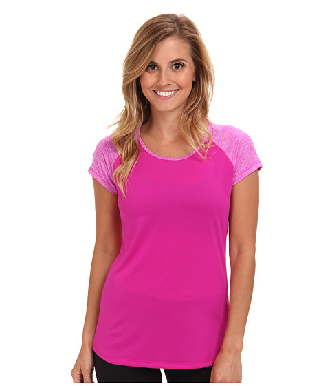 New Balance - Novelty Short Sleeve (Poisonberry) Women's Short Sleeve Pullover