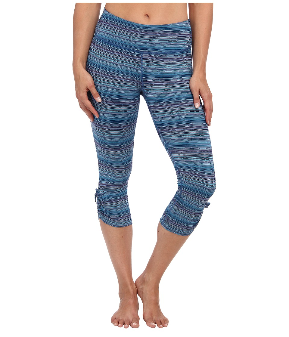 Moving Comfort - Urban Gym Capri (Crush Jacquard) Women's Capri
