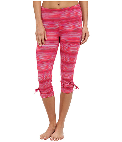 Moving Comfort - Urban Gym Capri (Crimson Jacquard) Women's Capri