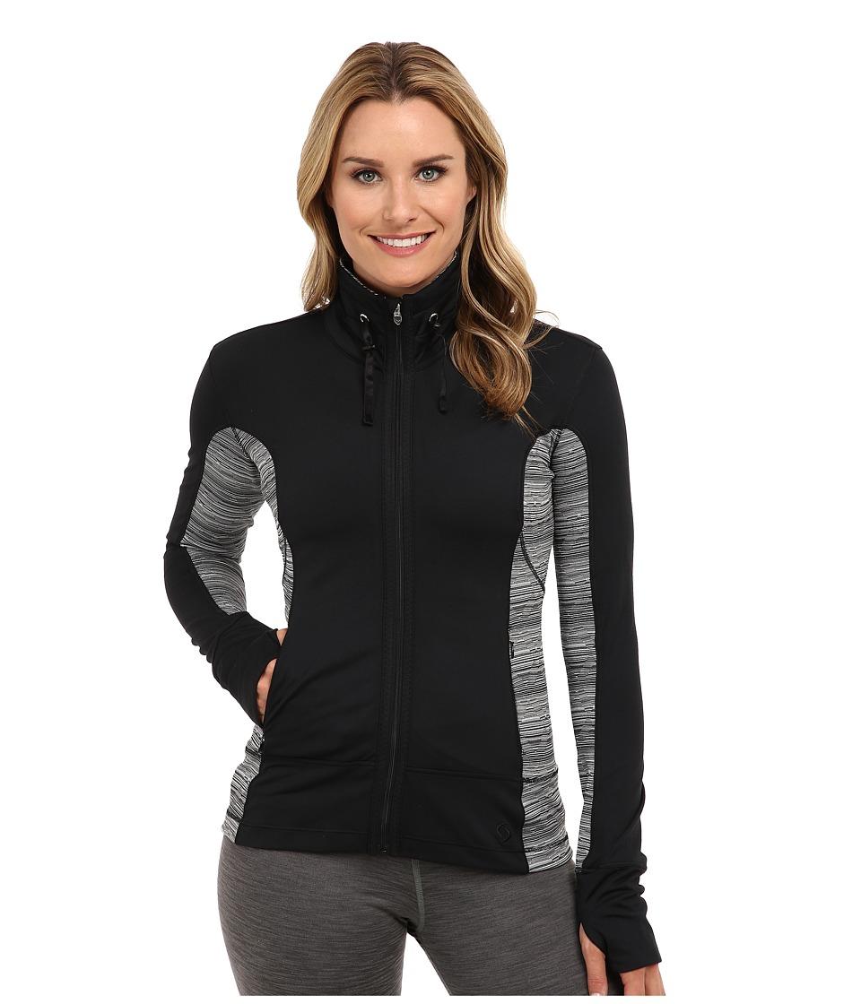 Moving Comfort - Foxie Full Zip (Black) Women's Sweatshirt