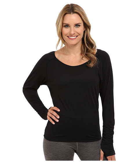 Moving Comfort - Twist Open Back (Black) Women