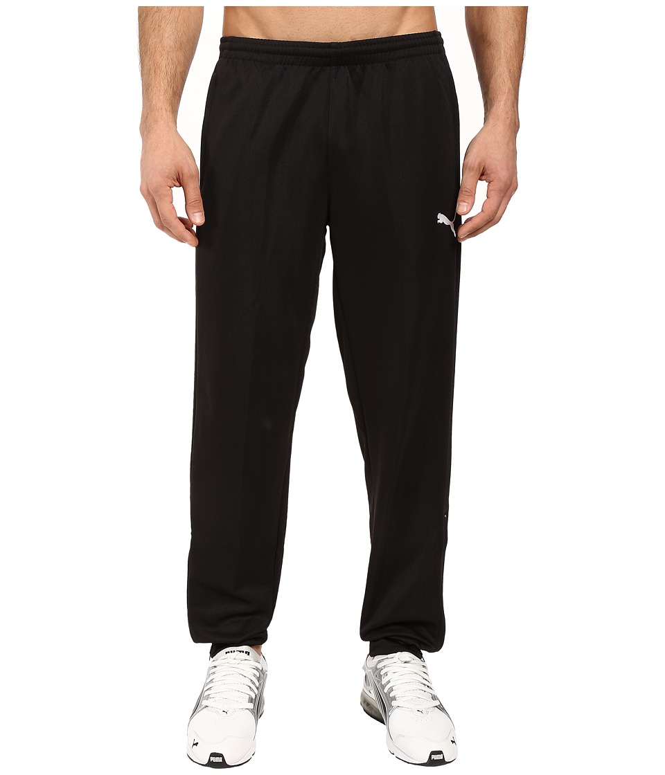 PUMA - Icon Walk Out Pants (Black/Black) Men's Casual Pants