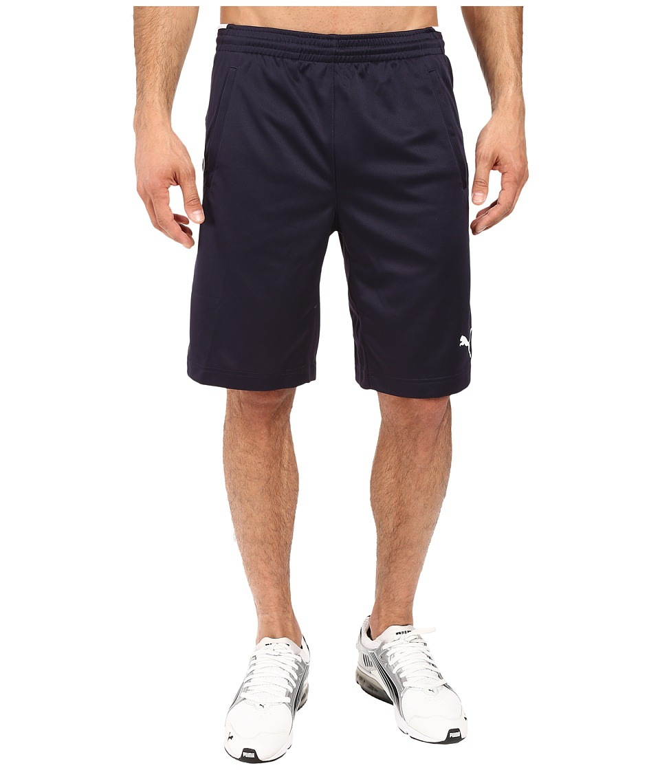 PUMA - Training Short (New Navy/New Navy) Men's Shorts