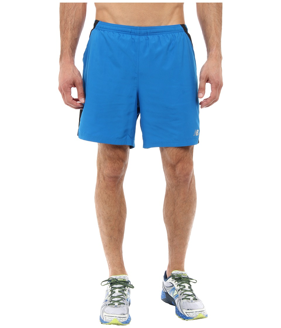 New Balance - 7 Run Short (Laser Blue) Men