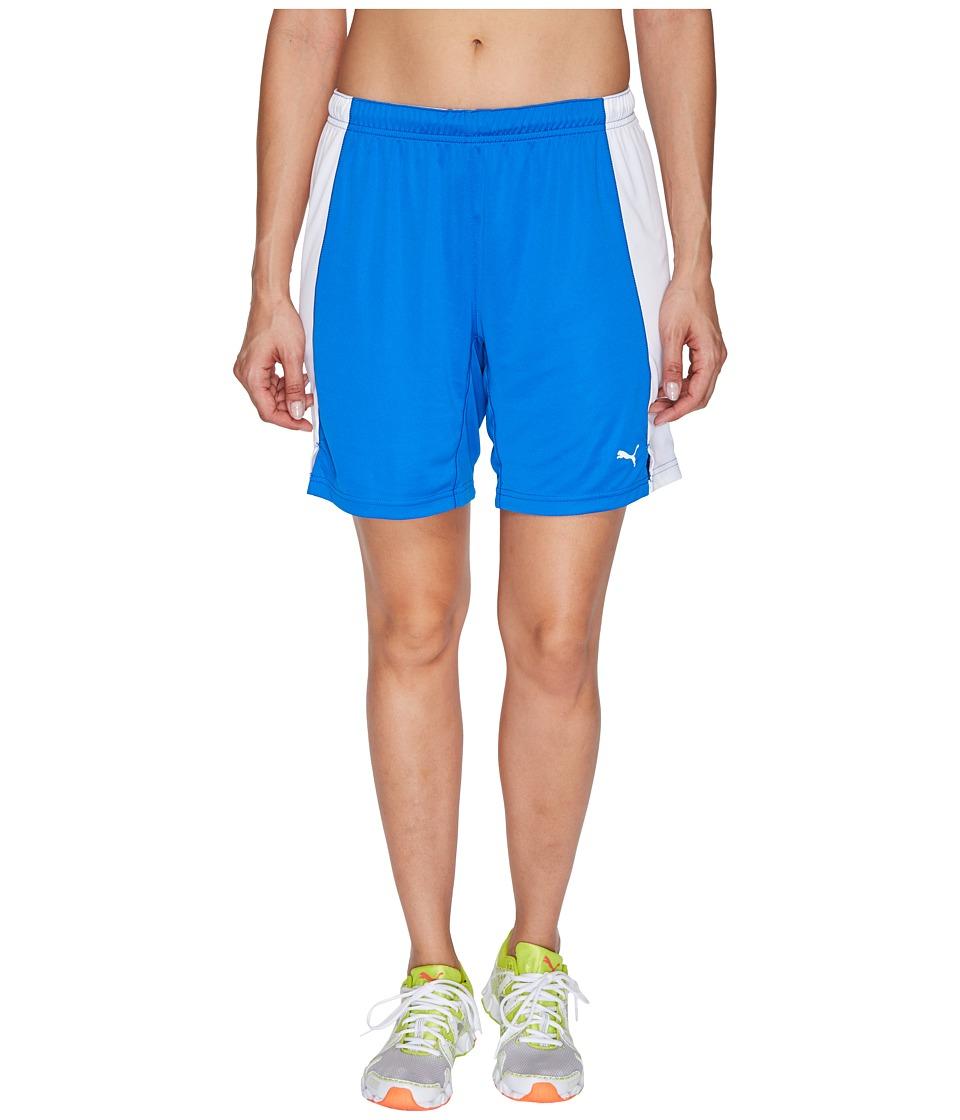 PUMA - Her Game Short (Puma Royal/White) Women's Shorts